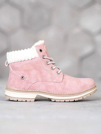 Női bokacipo 59256, rózsaszín árnyalat, 39