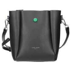 Černá kabelka listonoška