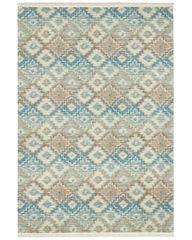 NOURISTAN Kusový koberec Kunar 103956 Blue/Brown/Beige