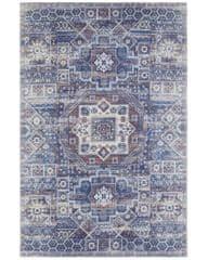 NOURISTAN Kusový koberec Babur 103938 Blue/Multicolor