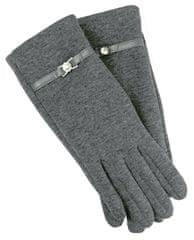 Karpet Dámske rukavice s pásikom - šedá