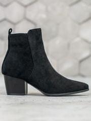 Evona Stylové boty ze špičkou