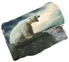 IMPAR SUBLIMACE Deka Lední medvěd