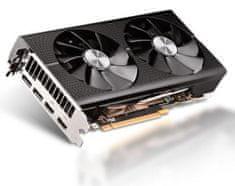 Sapphire PULSE Radeon RX 570 OC, 8 GB GDDR5 grafična kartica + DARILO: brezplačna igra