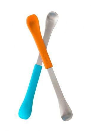 Boon SWAP - Kétoldalas kanál, 2 db, kék-narancssárga