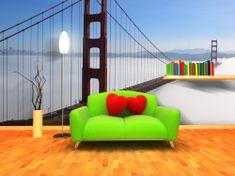 IMPAR SUBLIMACE Fototapeta Golden Gate Bridge