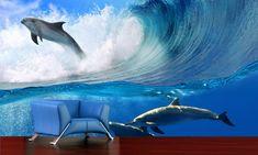 IMPAR SUBLIMACE Fototapeta Delfíni ve vlnách