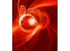 Dimex Fototapeta MS-3-0287 Červený abstrakt 225 x 250 cm