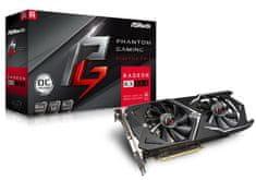 ASRock Phantom Gaming X Radeon RX 580 OC, 8 GB GDDR5 grafična kartica + DARILO: brezplačna igra