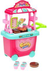 Mikro hračky Stánek cukrovinky pojízdný