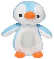 Mikro hračky Lampička tučňák 22 cm plyšový modrý