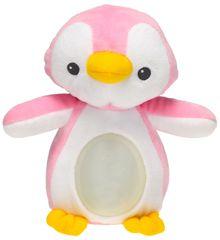 Mikro hračky Lampička tučniak 22 cm plyšový ružový