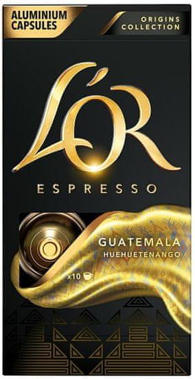 L'Or Espresso Guatemala 10 hliníkových kapslí kompatibilních s kávovary Nespresso®*