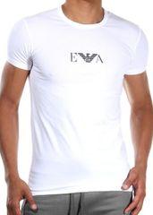 Emporio Armani Pánské tričko Emporio Armani 111267 CC715 bílá