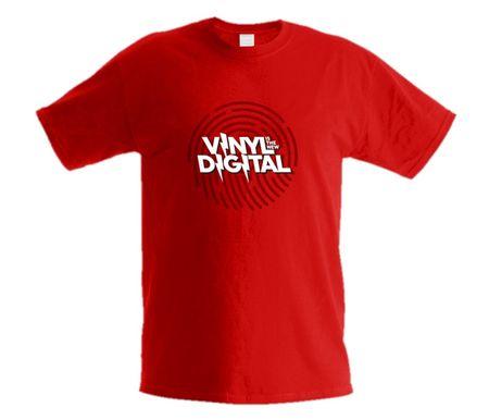 ORTOFON T-shirts, Digital str. L Tričko