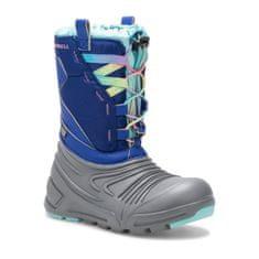 Merrell dievčenské snehule Snow Quest Lite 2.0 Wtpf grey/blue/turq