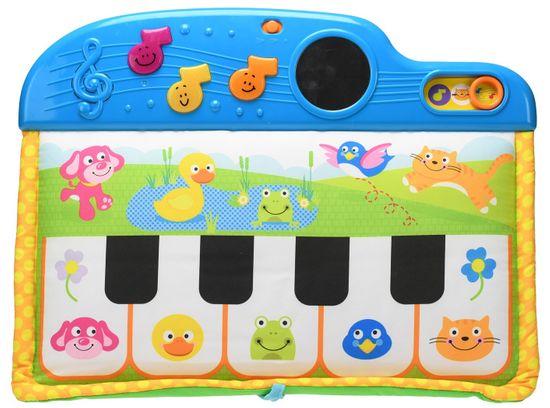 Mikro hračky Pianko detské 41 cm 5 klávesov na batérie so svetlom a zvukom