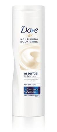 Dove Essential Nourishment tápláló testápoló (Body Milk) (mennyiség 250 ml)