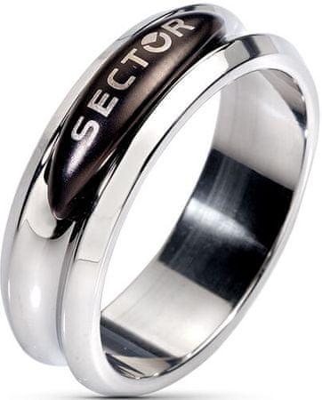Sector Jewels Pánsky oceľový prsteň Challenge I410 (Obvod 61 mm)