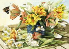 Schmidt Bastin: Spring flowers 1000 dielikov