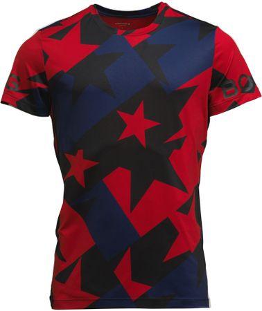 Björn Borg Tee Borg BB moška športna majica, Starstruck Tilt Red, S