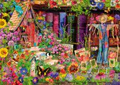 Blue Bird Puzzle 1000 db The Scarecrow's Garden