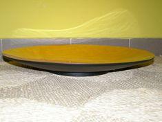 Bambusová mísa - zlatá - výška 6 cm, průměr (vrchní ) 50 cm (mísa velká)
