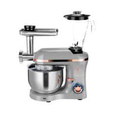 Berlingerhaus Kuchyňský robot s mlýnkem 1400 W Moonlight Edition