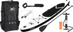 XQMAX Paddleboard pádlovací prkno 305 cm Black Shark kompletní příslušenství