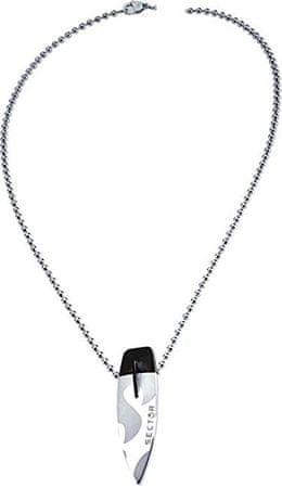 Sector Jewels Oceľový náhrdelník sa surfom S0L03