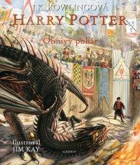 Rowlingová Joanne Kathleen: Harry Potter a Ohnivý pohár - ilustrované vydání