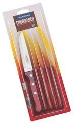 Tramontina Nůž steakový Tramontina Gaucho 6 ks rudé dřevo