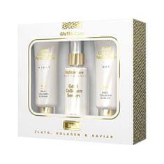 Biotter Pharma Zlatá sada krém na tvár so zlatom denný 50 ml + nočný 50 ml + sérum 50 ml
