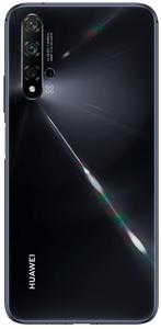 Huawei Nova 5T, štvornásobný zadný fotoaparát, ultraširokouhlý, makro, veľké rozlíšenie, umelá inteligencia, nočný režim.