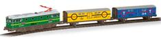 Pequetren Merchandises train – historický osobní vlak