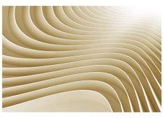 Dimex Fototapeta MS-5-0296 3D béžové vlny 375 x 250 cm