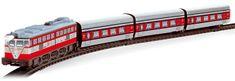 Pequetren Articulated train - Talgo - historický osobní vlak
