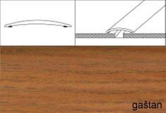 Dimex Prechodové lišty A03, šírka 3 cm x dĺžka 93 cm - gaštan japonský