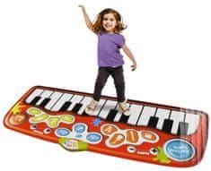 Mikro hračky Piano Jumbo step-to-play 178x78 cm 24 kláves na baterie se světlem a zvukem