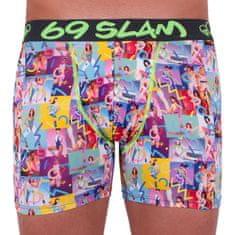 69 SLAM Pánské boxerky fit aerobic