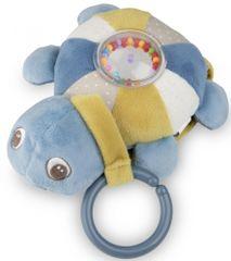 Canpol babies Plüss világító és zenélő Sea Turtle teknős, kék
