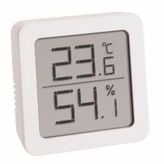 TFA Digitální teploměr s vlhkoměrem TFA 30.5051.02 – bílý