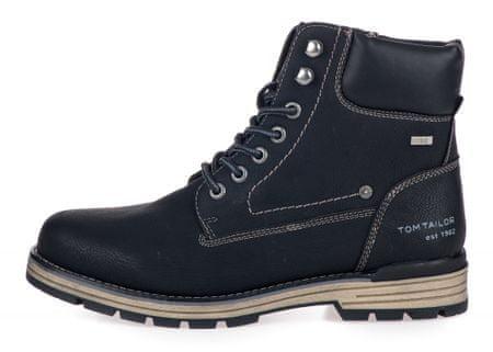 Tom Tailor pánska členková obuv 7980501 44 čierna