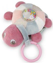 Canpol babies Plüss világító és zenélő Sea Turtle teknős, rózsaszín