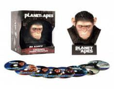 Planeta opic - Sběratelská CÉZAROVA KOLEKCE (8BD) - Blu-ray