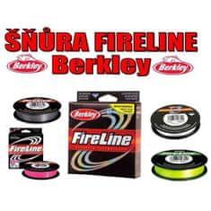 Berkley Rybářská pletená šňůra Berkley Fireline - šedá 0.08mm 110m
