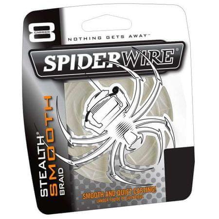 Spiderwire Splétaná šňůra Stealth Smooth 8 Code Red 1m nosnost: 10,55kg, průměr: 0,14mm