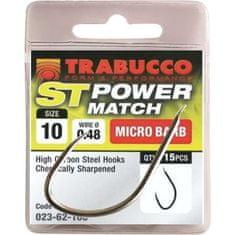 Trabucco Trabucco háčky ST Power Match 15ks