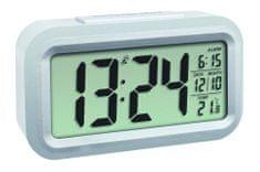TFA Rádiom riadený digitálny budík s možnosťou podsvietenia TFA 60.2553.02 LUMIO PLUS - farba biela