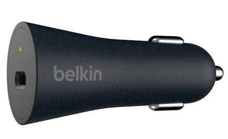 Belkin USB-C avtopolnilec QC 4.0